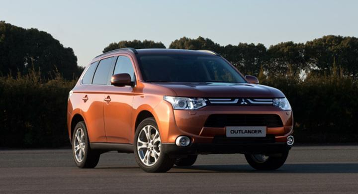 Nya Mitsubishi Outlander – officiell