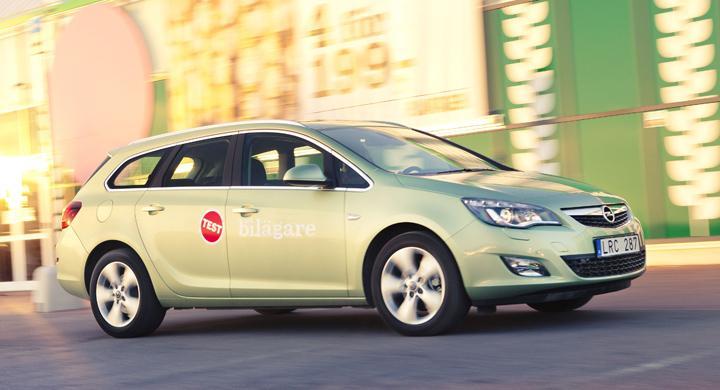 Rosttest: Opel Astra Sports Tourer (2012)