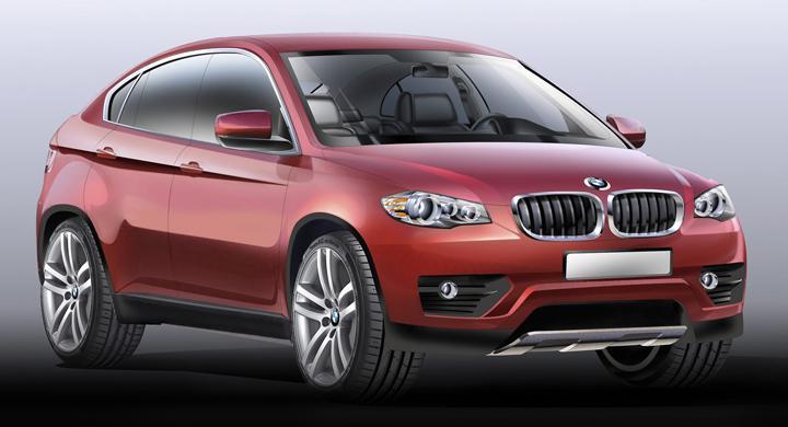 BMW X6 får lillebror – här är nya X4
