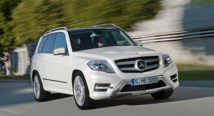 Mercedes GLK får ansiktslyft 2012