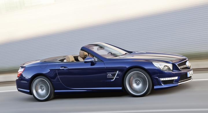 Mercedes SL 65 AMG – med V12
