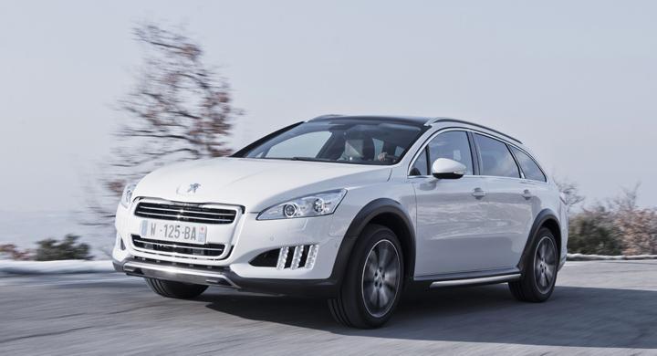Provkörning: Peugeot 508 RXH (2012)