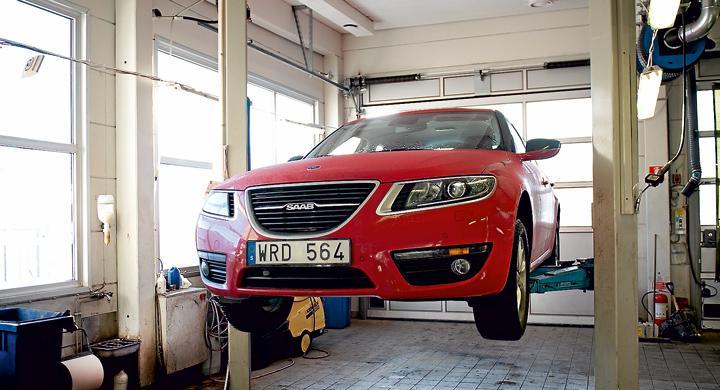 Brist på reservdelar till Saab