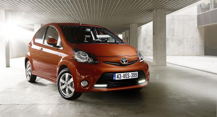 Toyota Aygo får ansiktslyftning