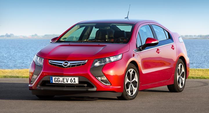 Opel Ampera mest sålda elbilen