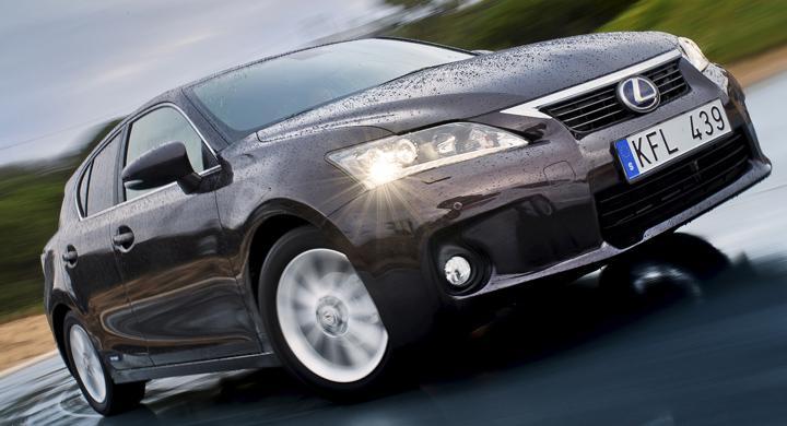 AutoIndex 2012: Lexus har Sveriges nöjdaste bilägare