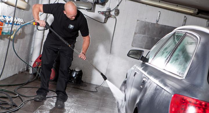 Ny lack till bilen behöver inte tvättas