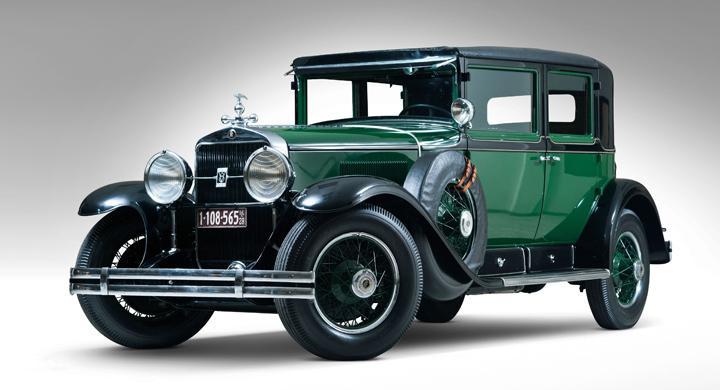 Al Capones Cadillac säljs på auktion
