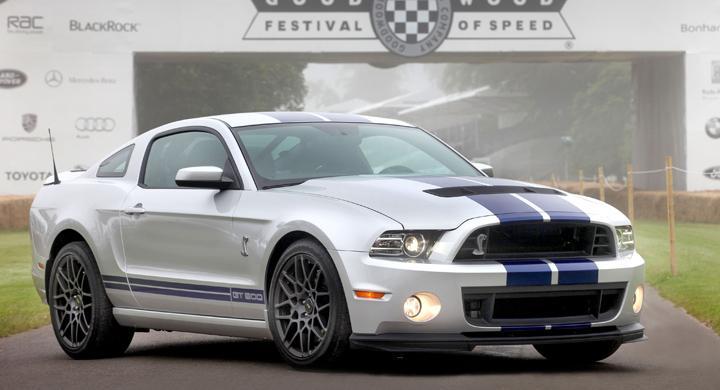 Ford Shelby GT500 snabbaste Mustangen någonsin