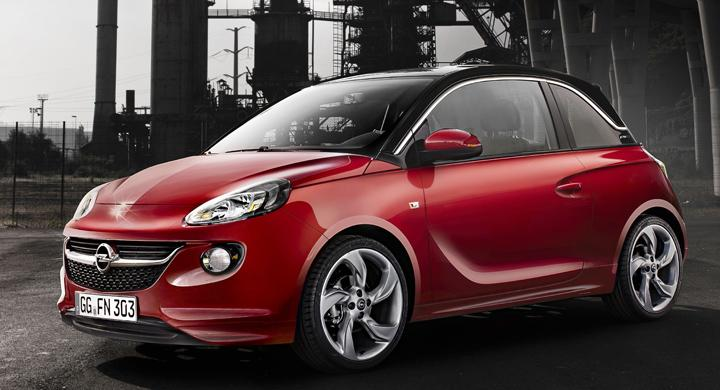 Opel Adam: Bilder och detaljer