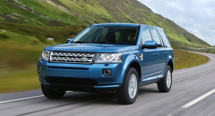 Land Rover Freelander får ansiktslyft