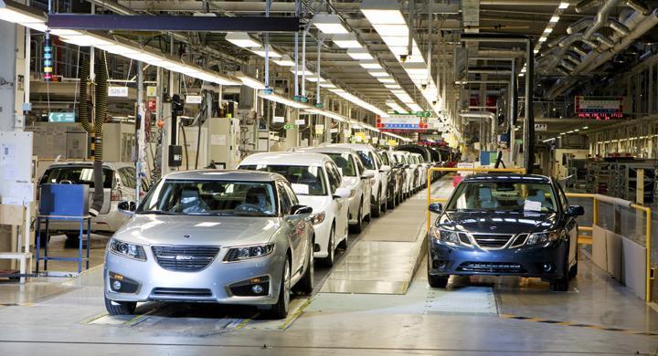 AutoIndex 2012: Saabs fall