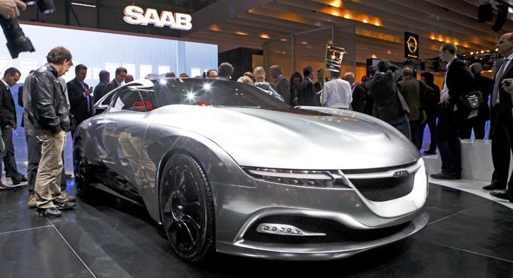 Spyker och Youngman bygger Saab