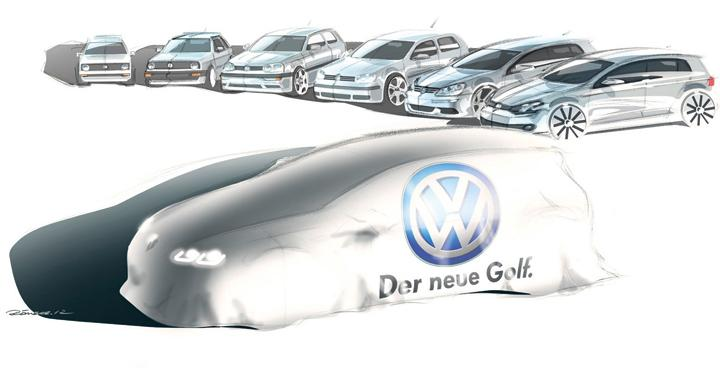 Volkswagen Golf blir 100 kilo lättare