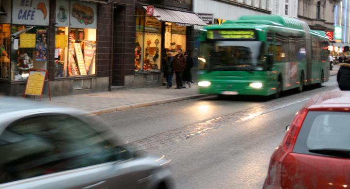 Farligare att åka buss än att köra bil
