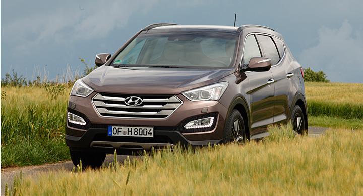 Provkörning: Hyundai Santa Fe (2012)