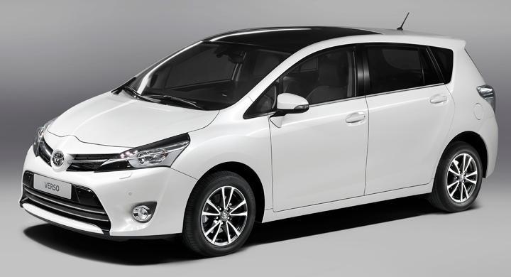Toyota Verso nu i ny tappning