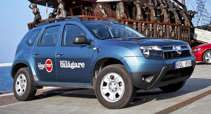 Tre långa veckor på verkstad för Dacia Duster