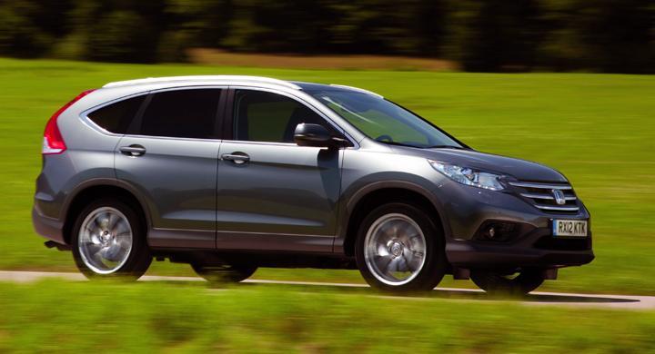 Provkörning: Honda CR-V (2012)