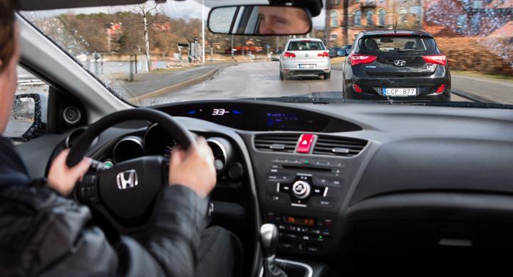 Bilfrågan: Fri fart vid omkörning?