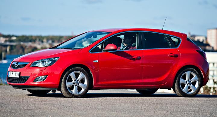 Rost upptäckt på vår Opel Astra