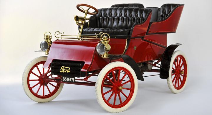 Bill Ford köpte äldsta Forden