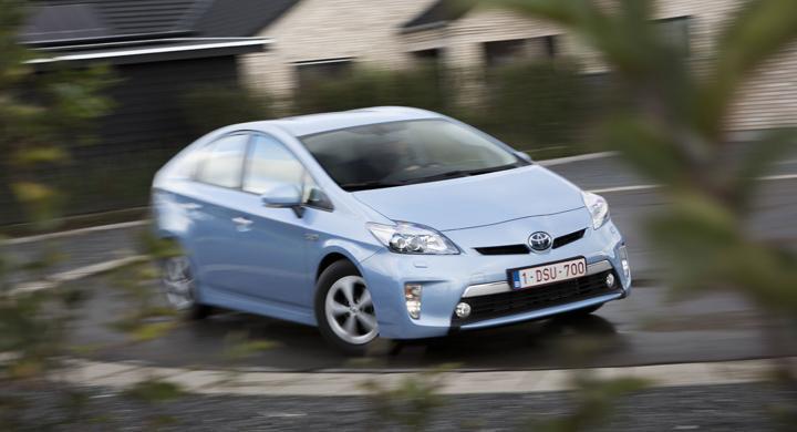 Provkörning: Toyota Prius Plug-in Hybrid (2012)