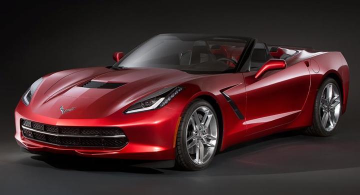 Är detta nya Corvette som cabriolet?