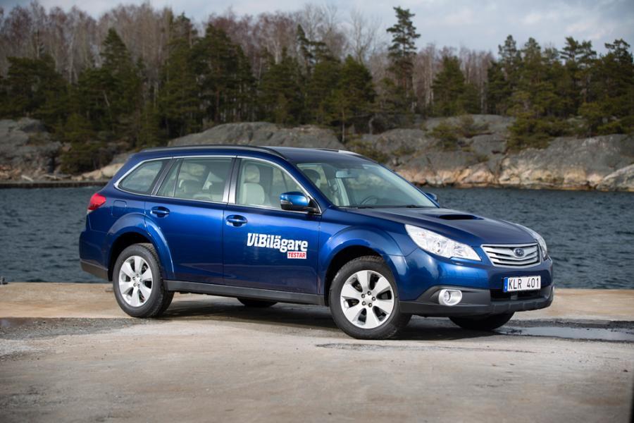 Rosttest: Subaru Outback (2012)