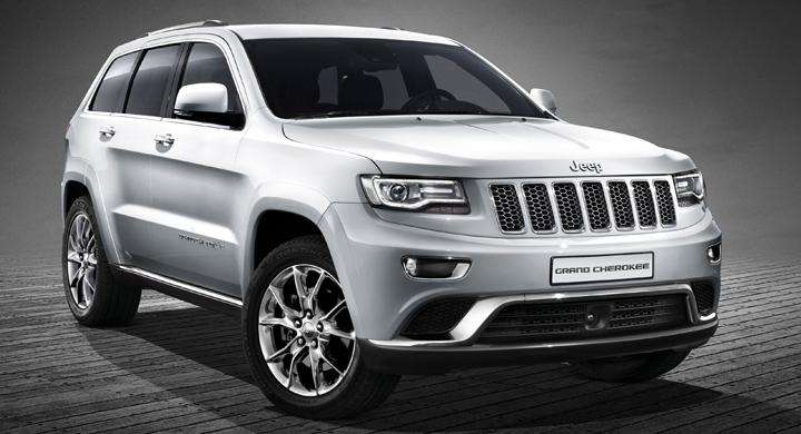 Jeep Grand Cherokee uppdateras