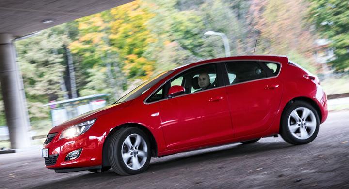 Störande elektronik i Opel Astra