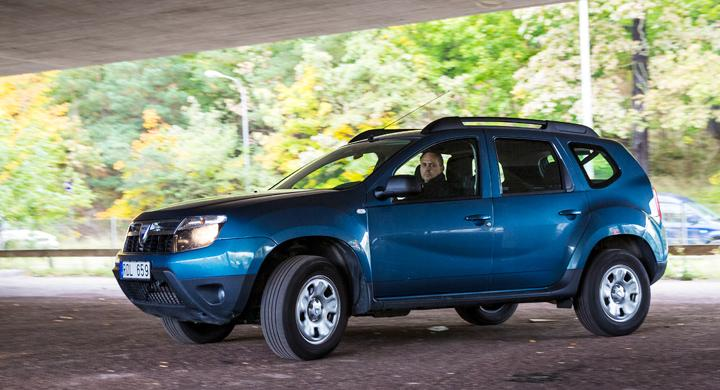 Begtest: Dacia Duster en duglig arbetshäst