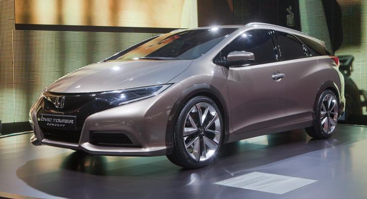 Nya Honda Civic Kombi – bilder och fakta