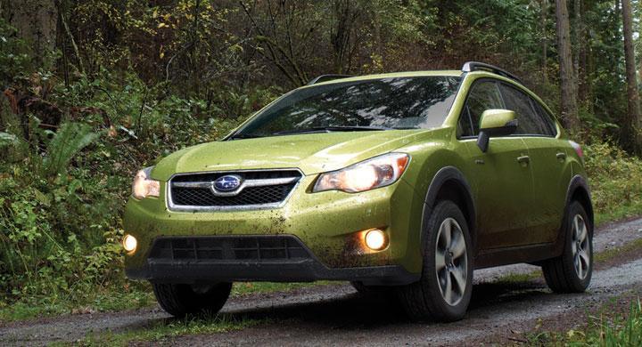 Subaru XV Crosstrek blir hybrid