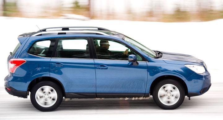 Provkörning: Subaru Forester (2013)