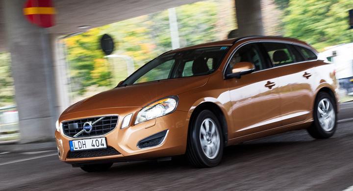 Begtest: Utlöst krockvarning i Volvo V60