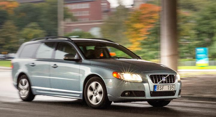 Begtest: Ryckig motor i Volvo V70