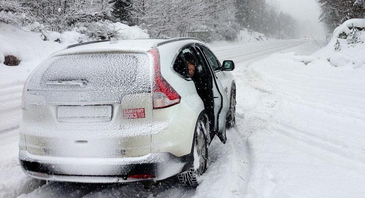 Vintern biter inte på Honda CR-V