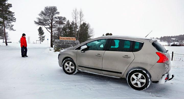 Peugeot 3008: Tryggt med Grip Control