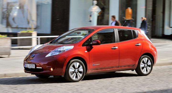 Provkörning: Nissan Leaf (2013)