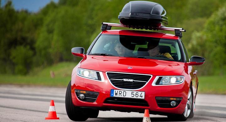 Dags att ta farväl av vår Saab 9-5