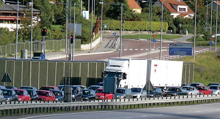 Bilfrågan: Accepterat att tränga sig i trafiken?