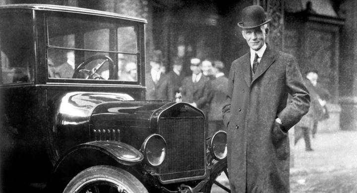 Henry Ford 150 år – hyllas i USA