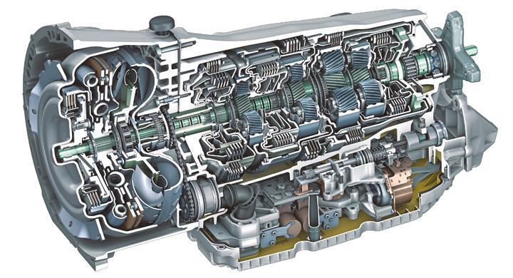 Mercedes lanserar niostegad automatlåda