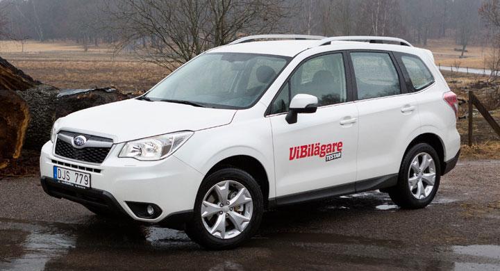 Rosttest: Subaru Forester (2013)