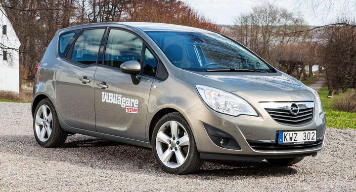 Rosttest: Opel Meriva (2013)