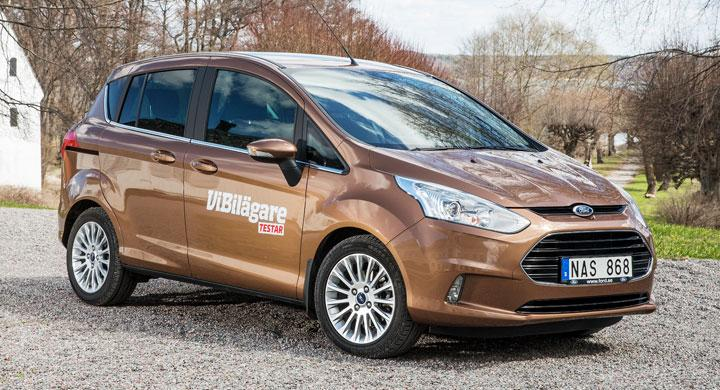 Rosttest: Ford B-Max (2013)