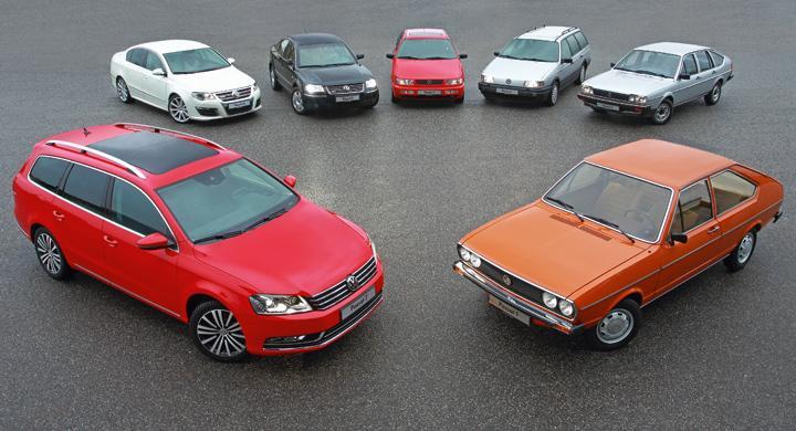 Volkswagen Passat fyller 40 år