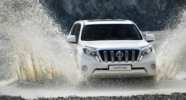 Toyota Land Cruiser får ansiktslyft