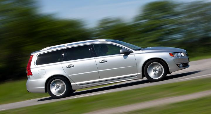 Provkörning: Volvo V70 (2013)